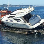 Seguro para barcos como prevención en caso de colisión