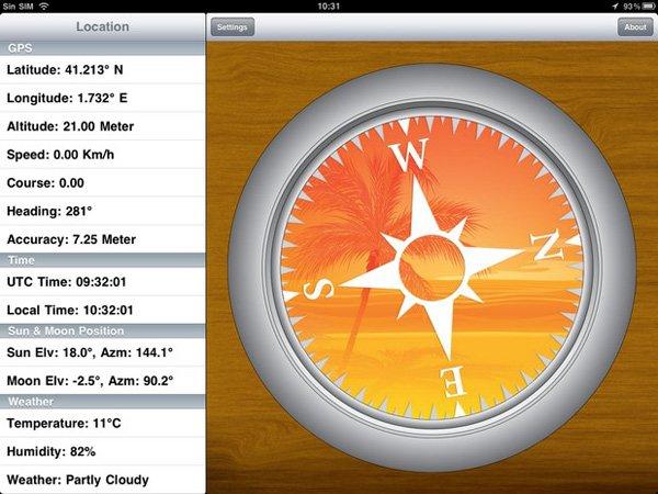 app nautica compass pro