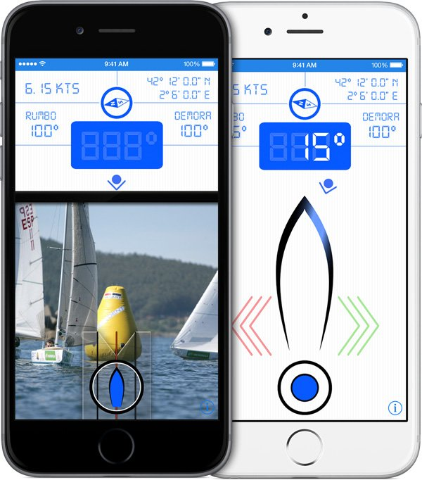 apps nauticas bearing pilot