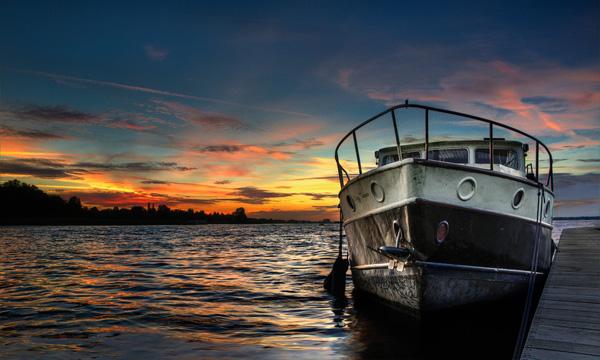 barco ocasion humedad