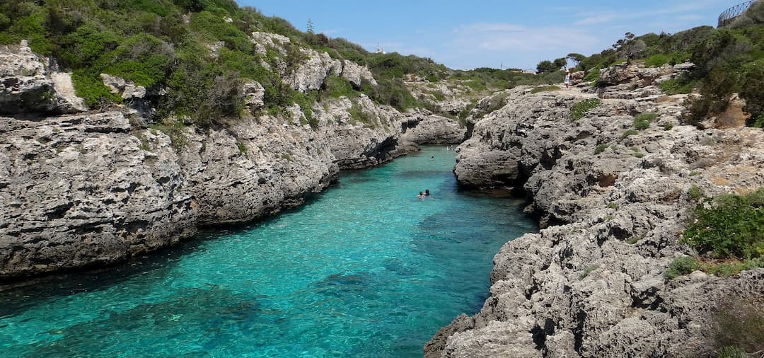 fondear cala Menorca