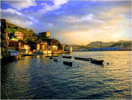 Navegar por pasajes, País Vasco